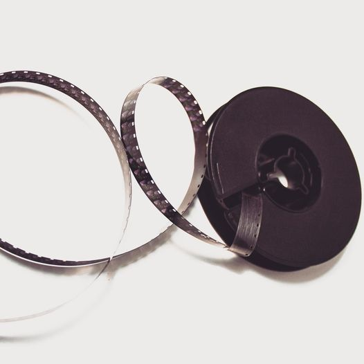 8mm Filmrollen
