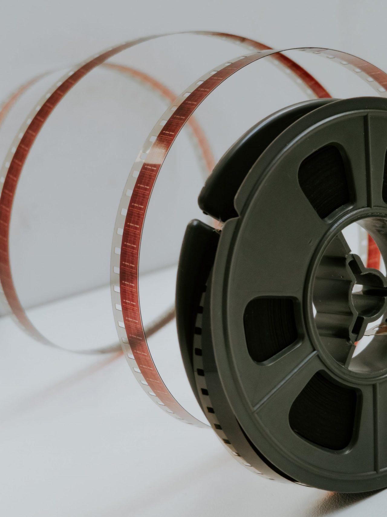 8mm film roll